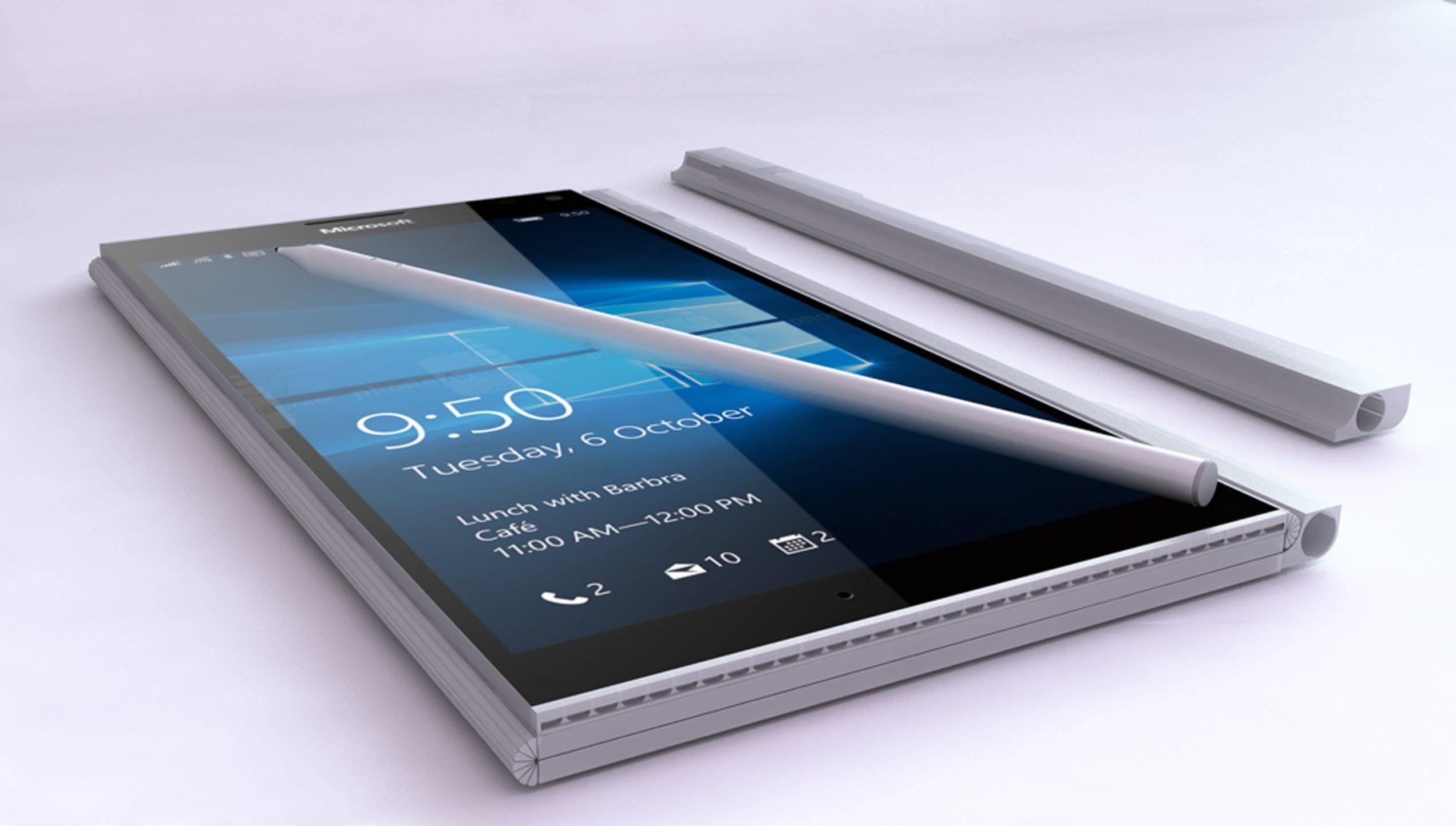 ВСеть утекли фотографии невыпущенного телефона Microsoft