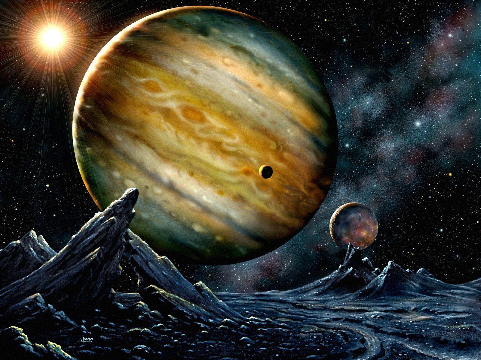 картинки космос планета юпитер положение дивана