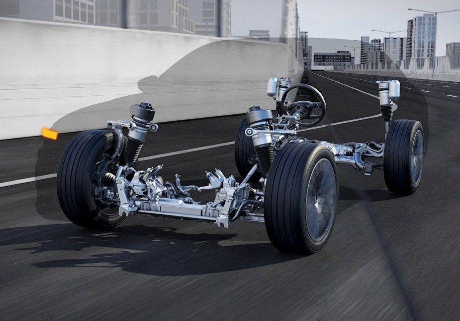 B Audi рассказали о работе «умной» подвески нового A8