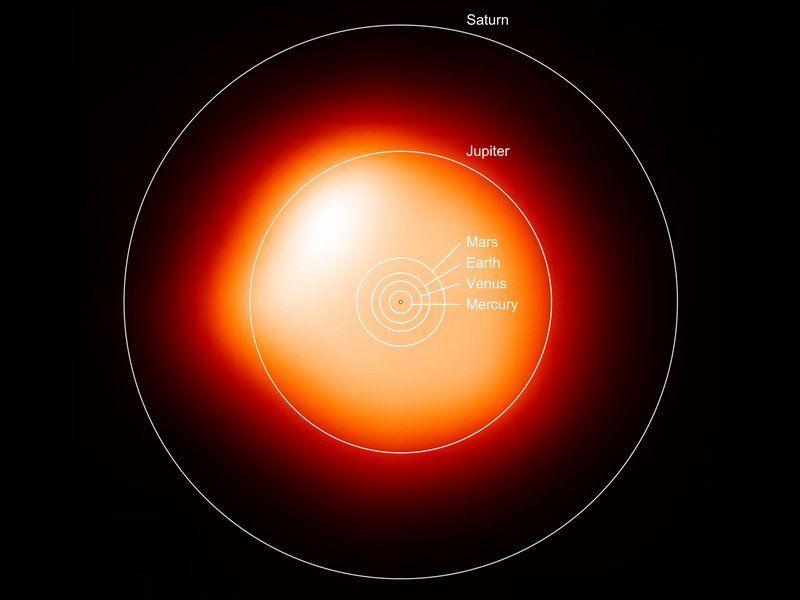 Опубликован самый четкий снимок отличной от Солнца звезды