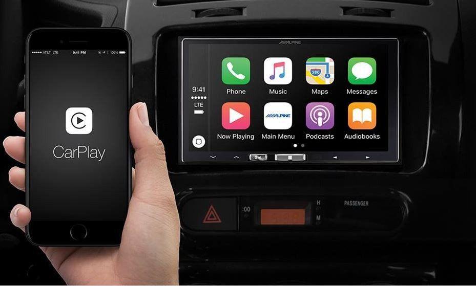 Представлен беспроводной Apple CarPlay от Альпин Electronics