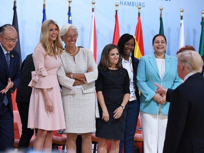 Меркель поддержала появление Иванки Трамп вместо отца навстрече G20
