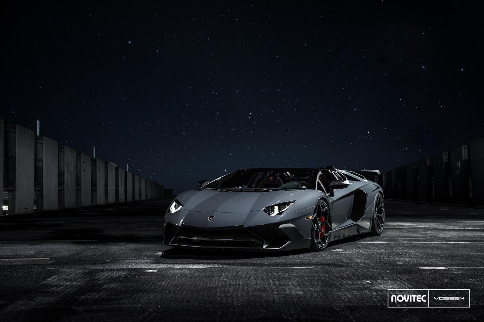 Автотюнеры изNovitec модифицировали Lamborgini AventadorSV