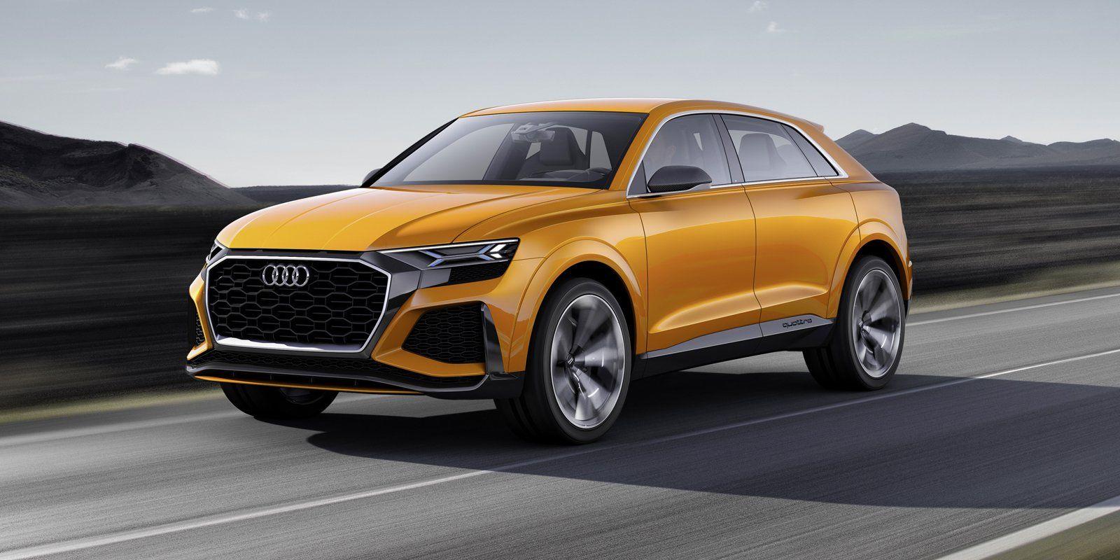 Внедорожное купе Audi Q8 уже тестируется в России