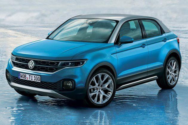Размещены рендеры нового кроссовера VW