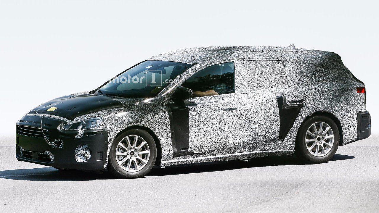 Новый Форд Focus универсал проходит тестирование