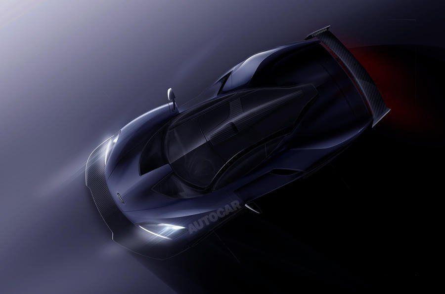 Мак Ларен покажет абсолютно новый гиперкар P15 в будущем году