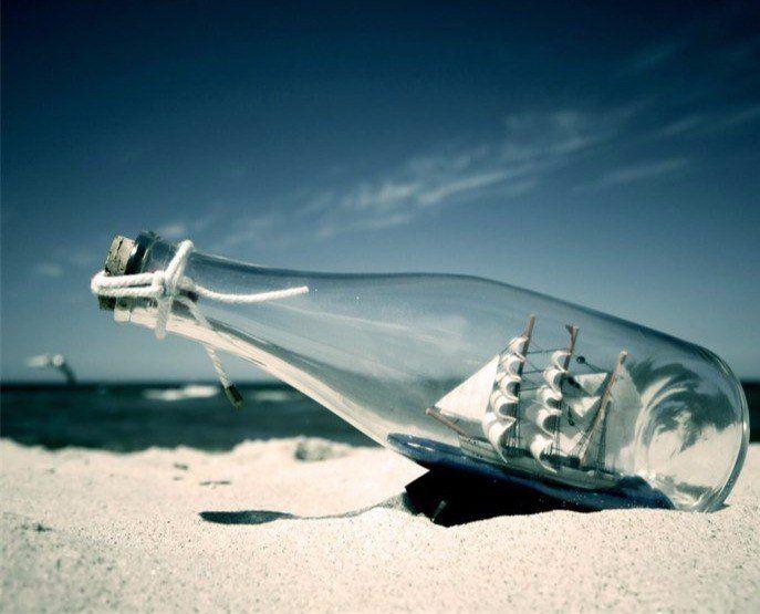 Одинокий вдовец из Великобритании отправляет послания вбутылках, чтобы отыскать любовь