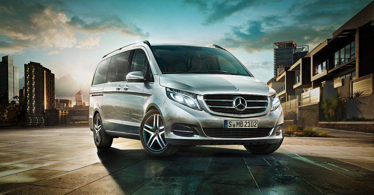 Вenz анонсировал премьеру нового фургона V-Class Rise