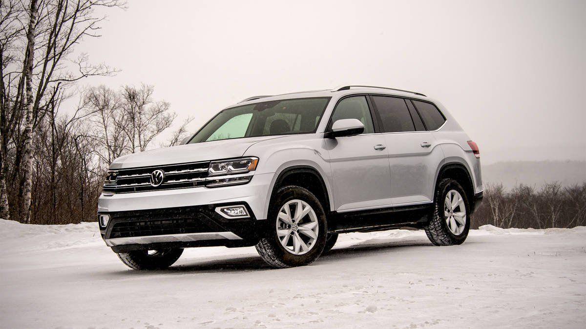 VW Atlas получил удовлетворительную оценку безопасности отIIHS