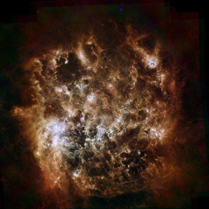 Найден  «адский» кокон внутри Магелланова огромного  облака— Ученые