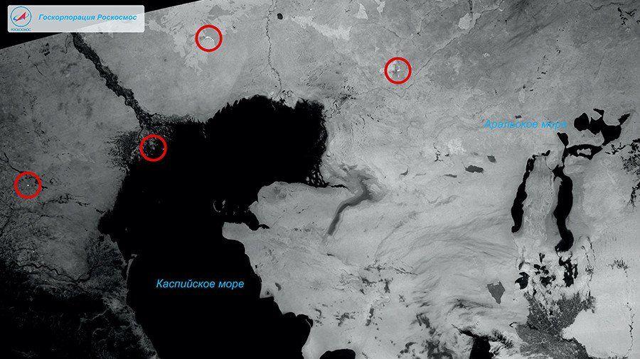 «Канопус-В-ИК» прислал наЗемлю первые фотографии