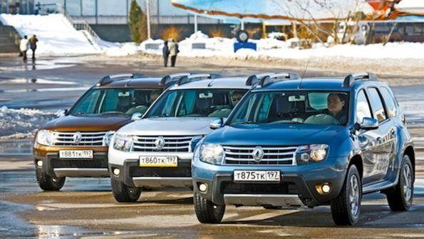Продажи Рэно в РФ возросли на17,4% засемь месяцев