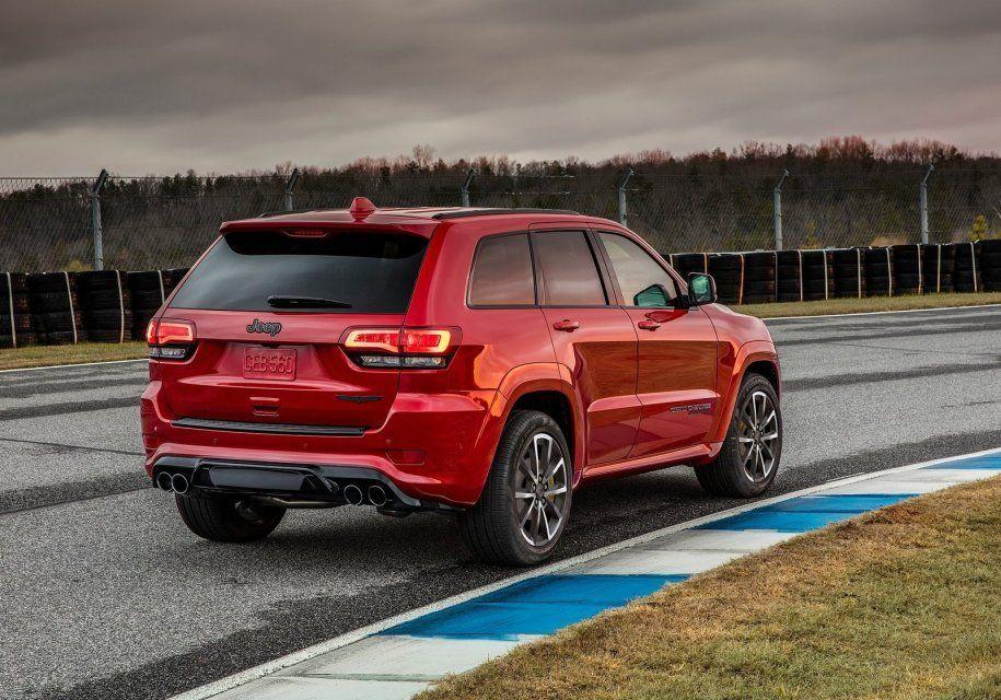 Jeep Grand Cherokee Trackhawk оценили в $85 900