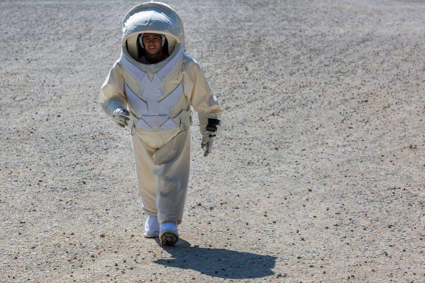 Студенты изФранции выдумали скафандр для Марса