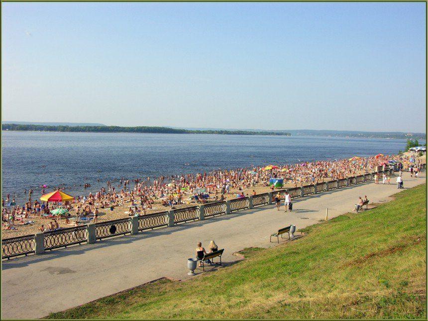 Вода на 6-ти пляжах Самарской области несоответствует нормативам помикробиологическим показателям