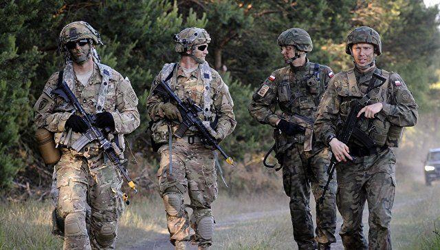 Уамериканских военных вПольше украли имущество на55 тысяч долларов