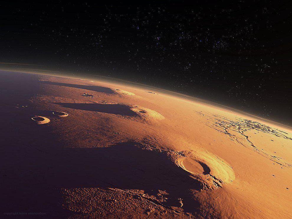 NASA заявило обаномальной пористости коры Марса