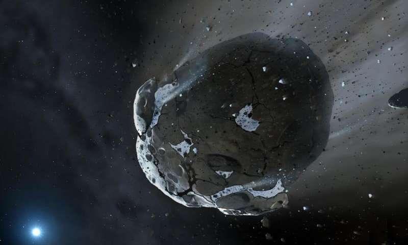 Немалый астероид уничтожит Марс иЗемлю— Ученые