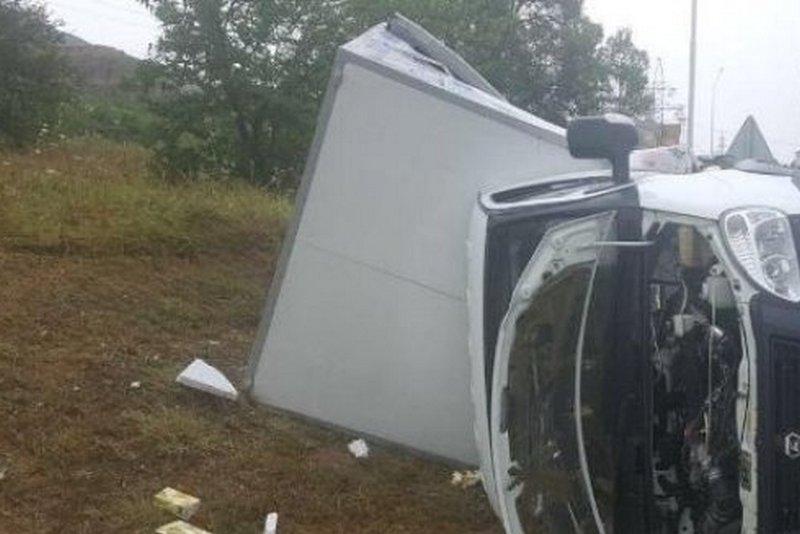 5  человек пострадали вДТП сучастием 2-х  «Газелей» наМКАД