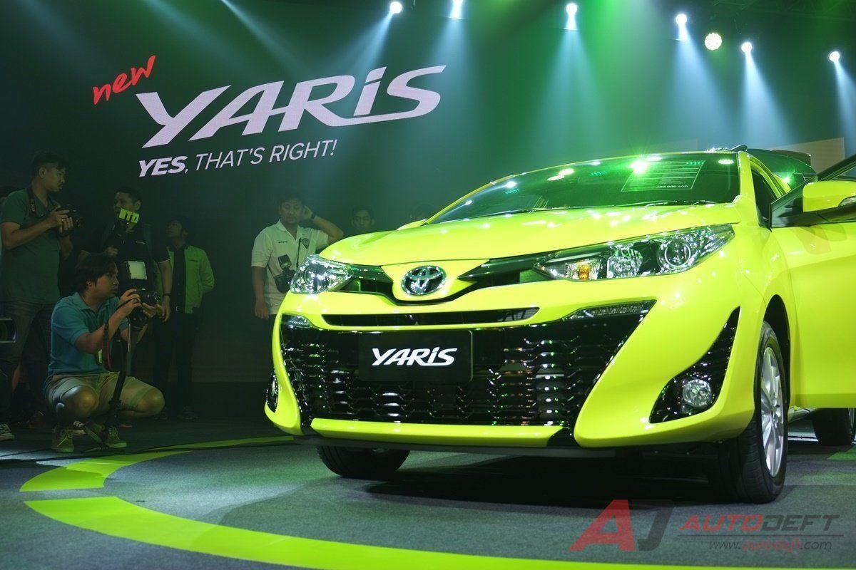 Тойота представила модифицированный хэтчбек Yaris для Таиланда