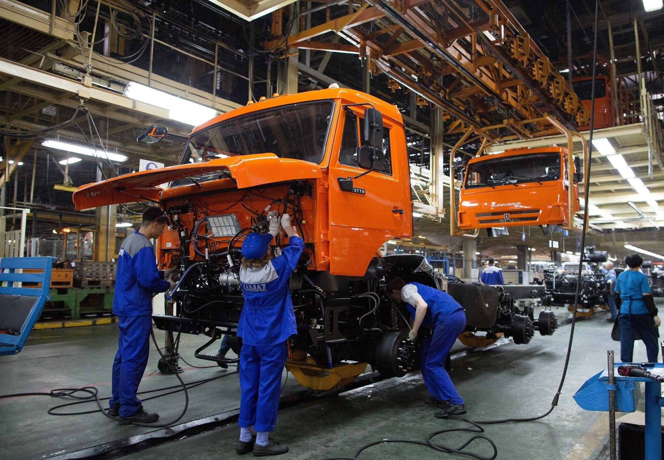 КАМАЗ увеличил ежесуточную норму сборки до200 фургонов