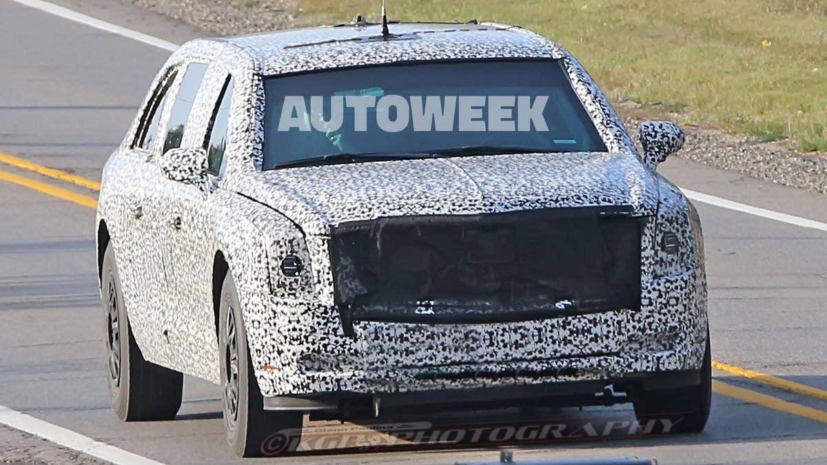 Новый президентский лимузин кадилак Beast проходит тест-драйв вСША
