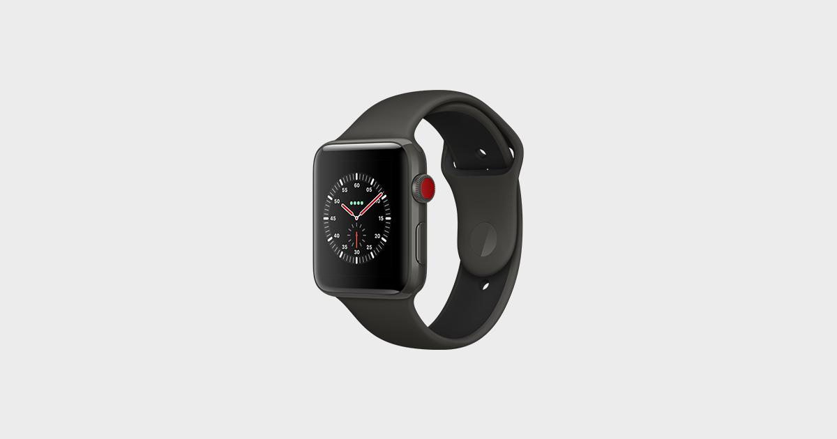 Apple уличили вобмане пользователей смарт-часов Watch Series 3