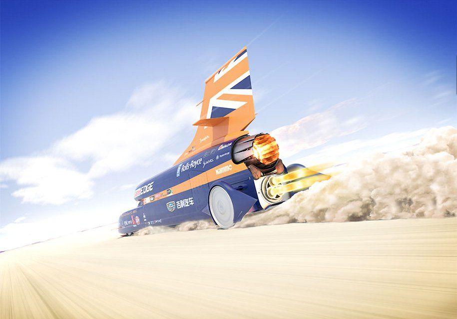 Планируется тестовый запуск самого скорого автомобиля Bloodhound SSC