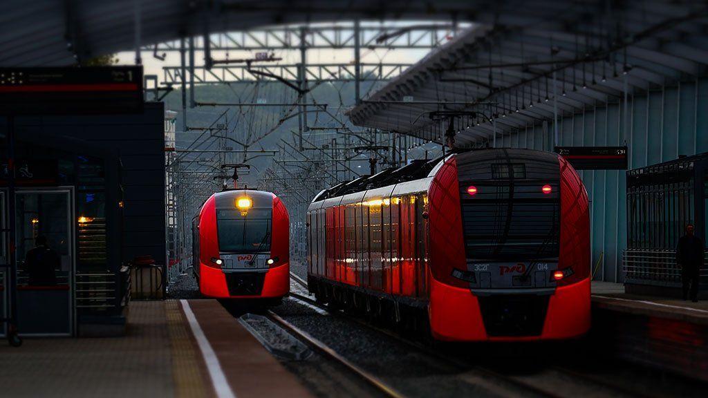 Настанциях Московского центрального кольца обновлены лозунги сграфиком отправления поездов