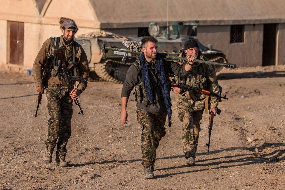 Армия Сирии освободила отбоевиковИГ город Аль-Маядин
