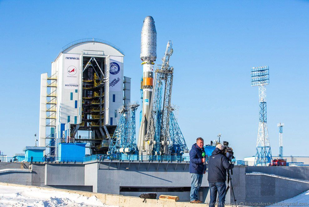Роскосмос запустит как минимум 2-х спутников скосмодрома Восточный в будущем 2018 году