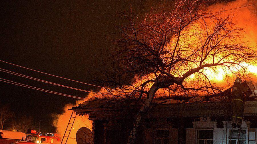 Семья с 2-мя детьми погибла впожаре в личном доме вПрикамье
