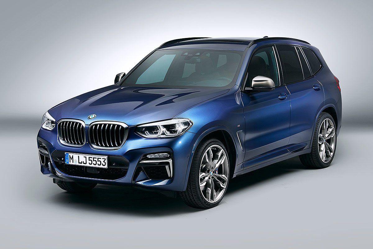Новый BMW X3 размером с BMW X5 привезли в автосалоны Новосибирска