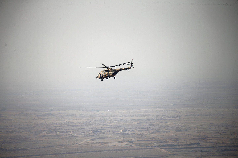 Военный вертолет разбился вИраке, весь экипаж умер