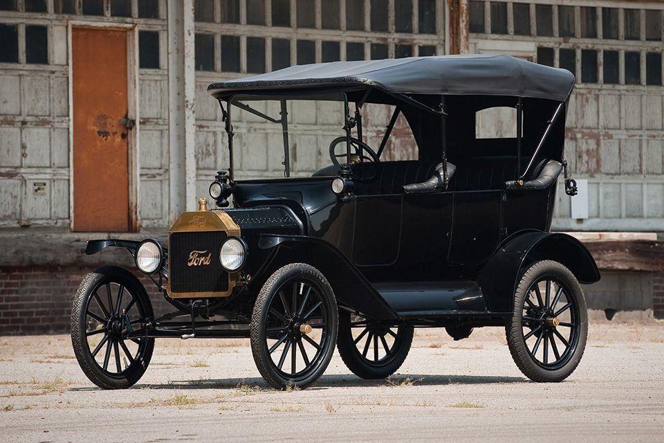 В Москве выставлен на продажу раритетный Ford Model T1923 года