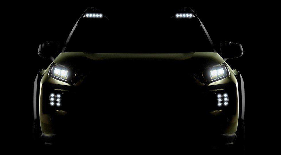 Размещены тизеры нового концептуального кроссовера Тойота FT-AC