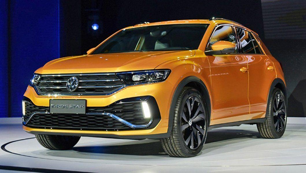 VW представила новый кроссовер Фольксваген T-Rocstar