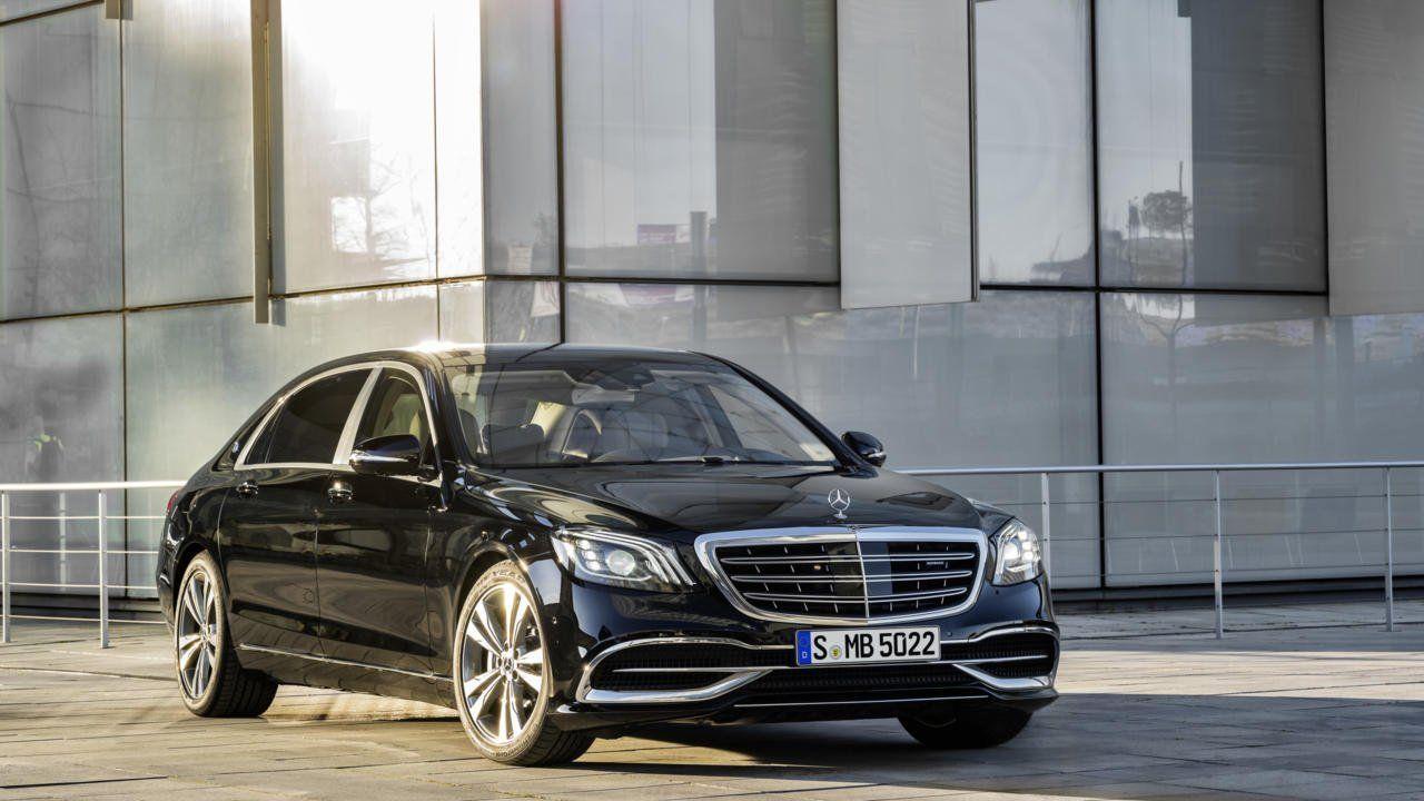 Зачем электрикам изТамбова Mercedes-Maybach S