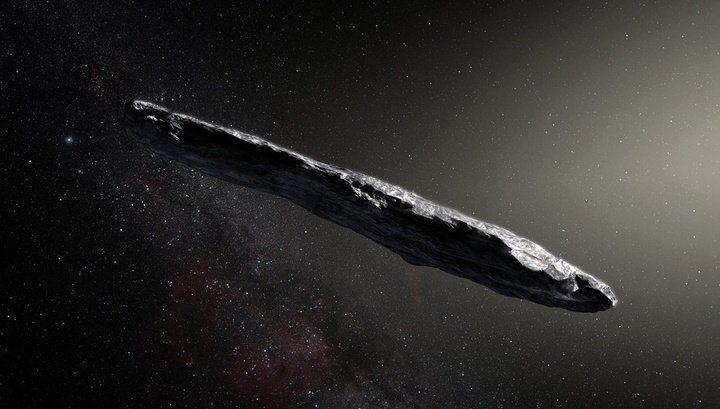 ВСолнечной системе отыскали межзвездный астероид