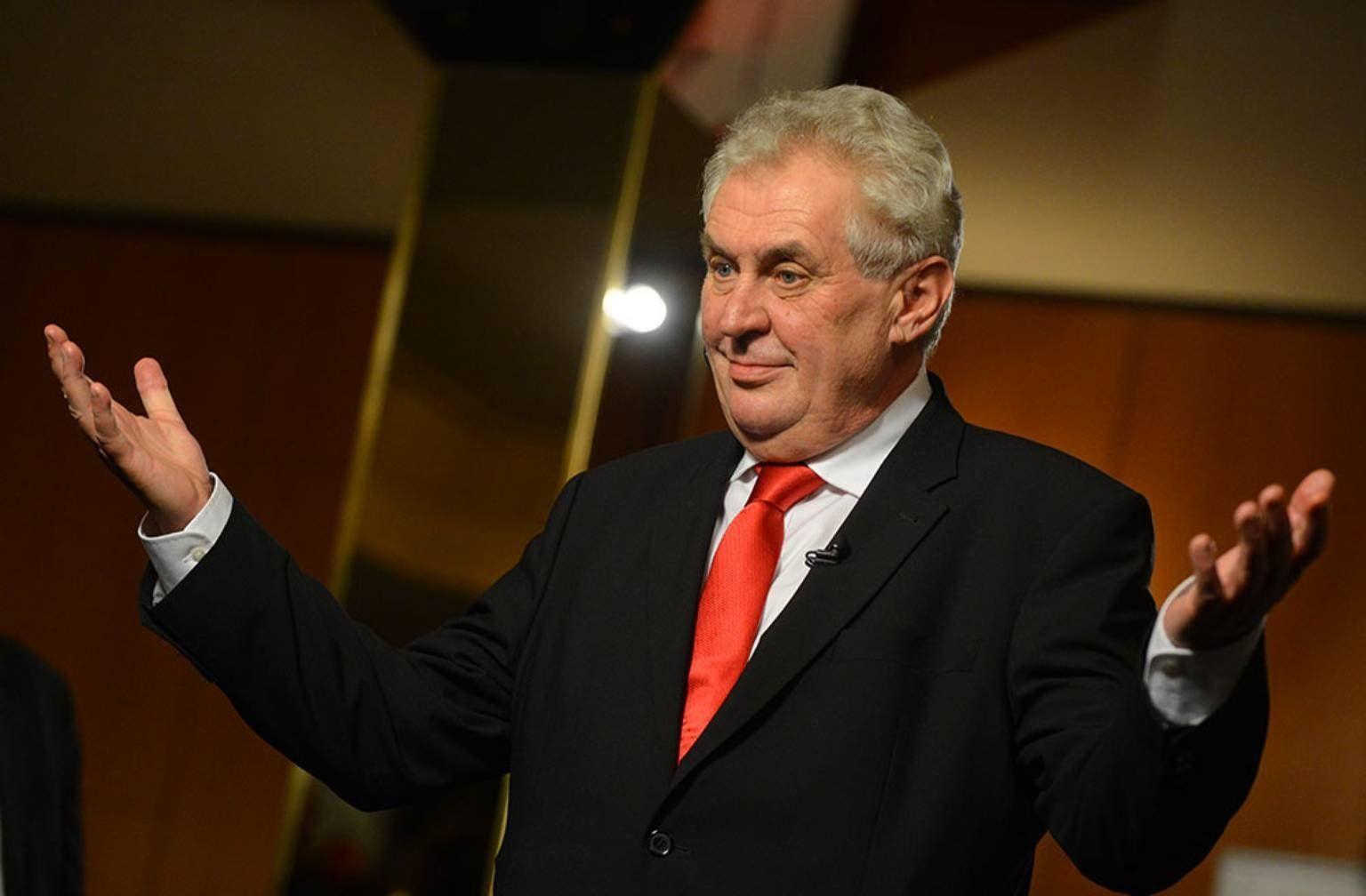 Президент Чехии обвинил Евросоюз в«трусливой поддержке» терроризма