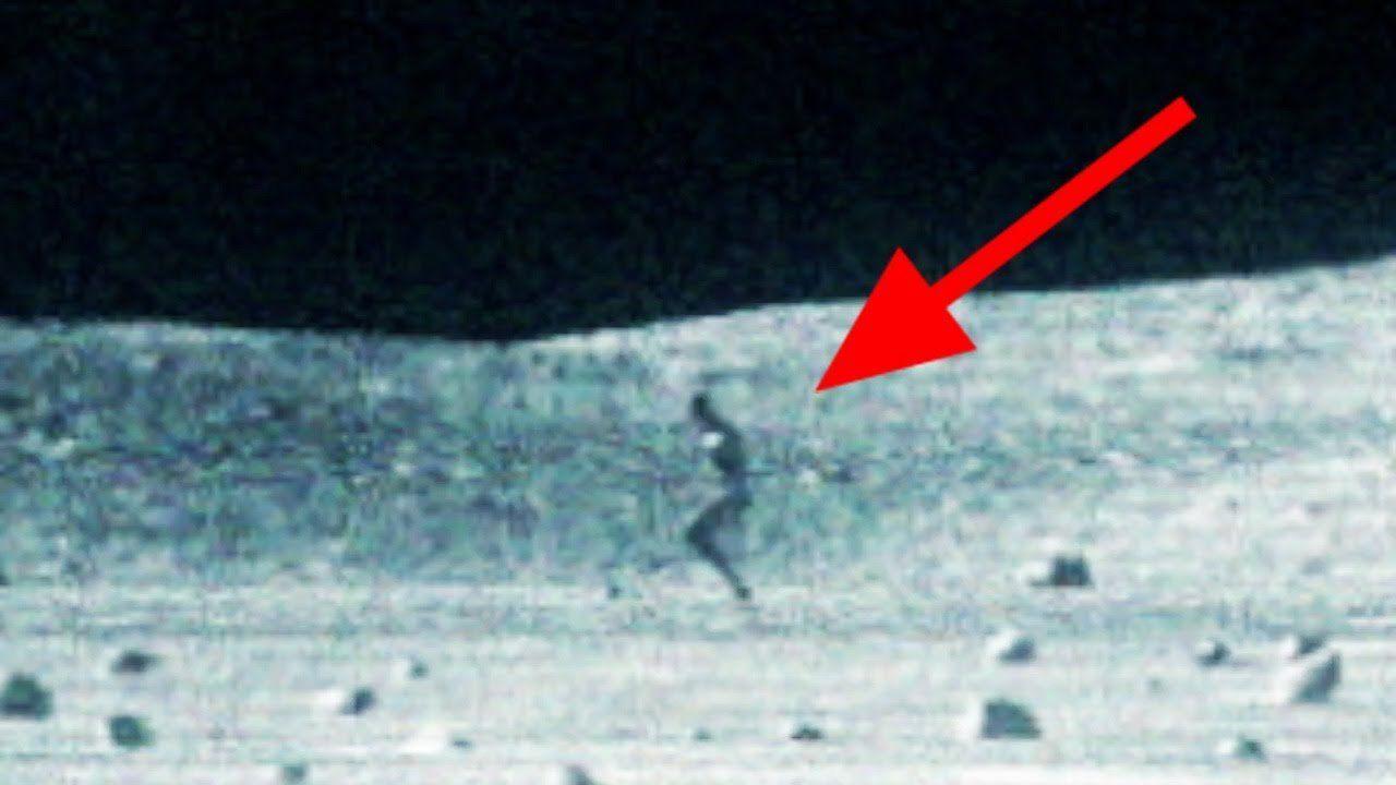 Известный уфолог нашел наЛуне инопланетянина срюкзаком