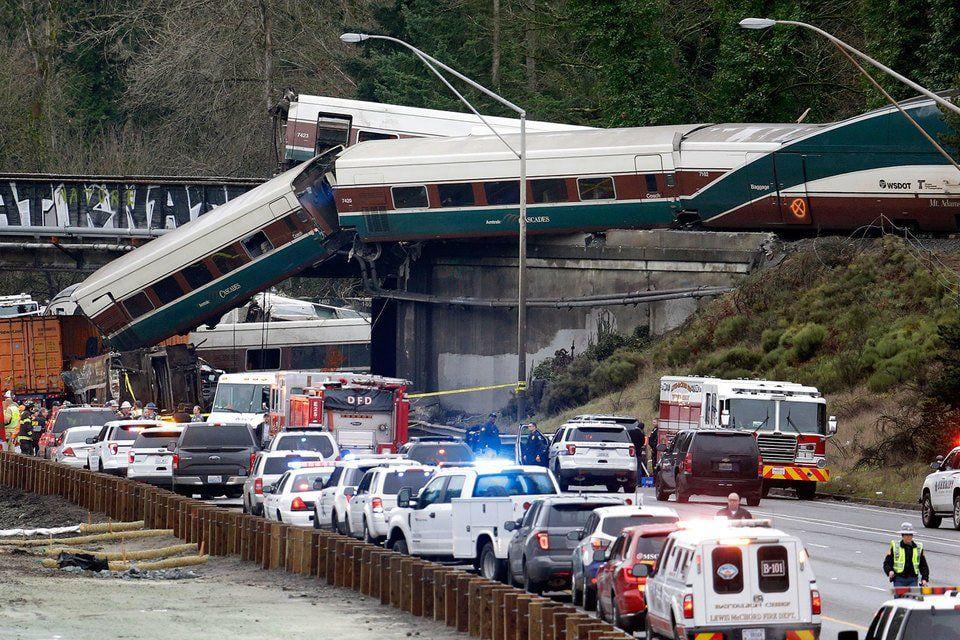 Предварительной предпосылкой железнодорожной трагедии вВашингтоне стало превышение скорости