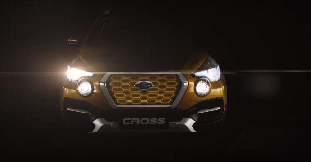 Datsun обнародовал видеоролик с«внедорожником» Cross 2019