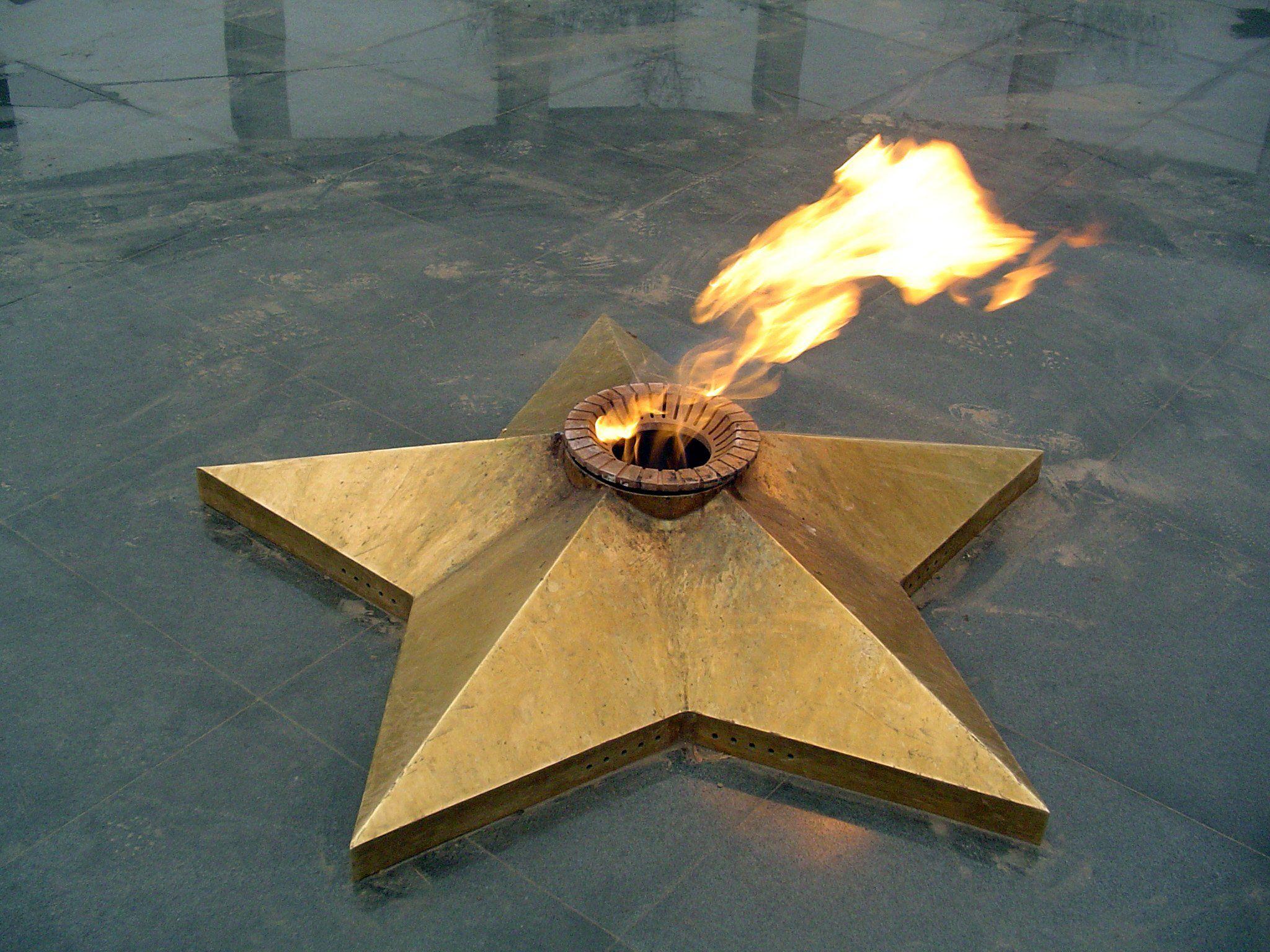 ВЧелябинской области двое несовершеннолетних погасили Вечный огонь