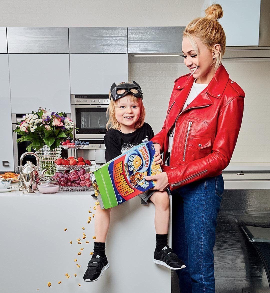 Рудковская и ребенок фото