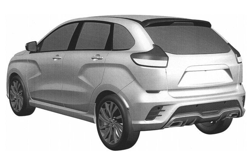 Волжский автомобильный завод запатентовал спортивную версию Лада XRAY