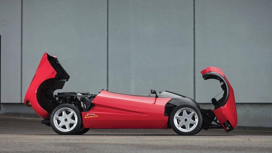 Самый необычный концепт Ferrari продают нааукционе