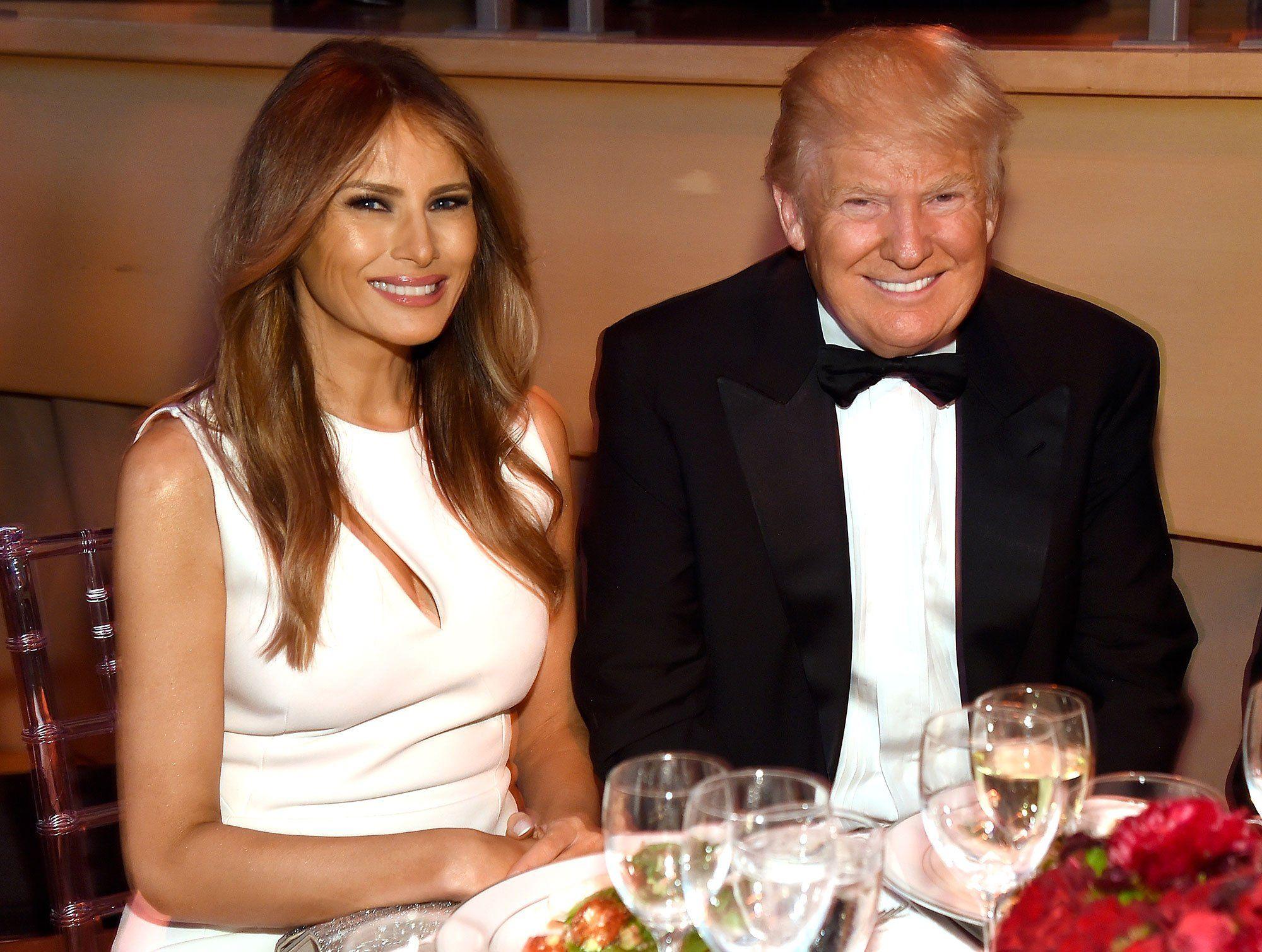 чибиса прочих фото трампа и его супруги просто был ребенком