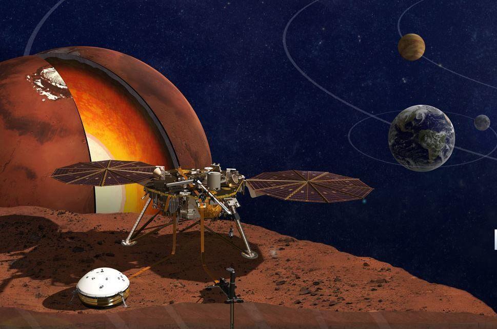 ВГермании проводят заключительные тесты зонда Mars InSight